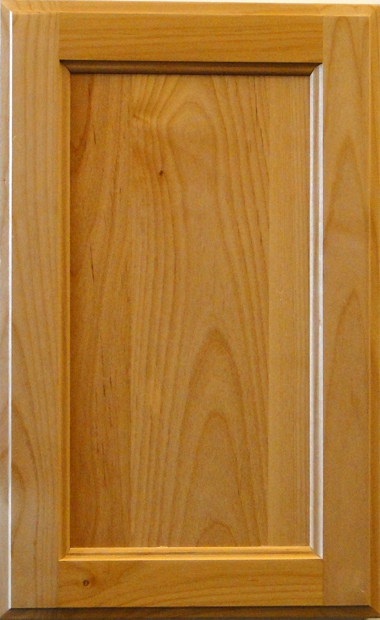 Alder Recessed Panel - Natural