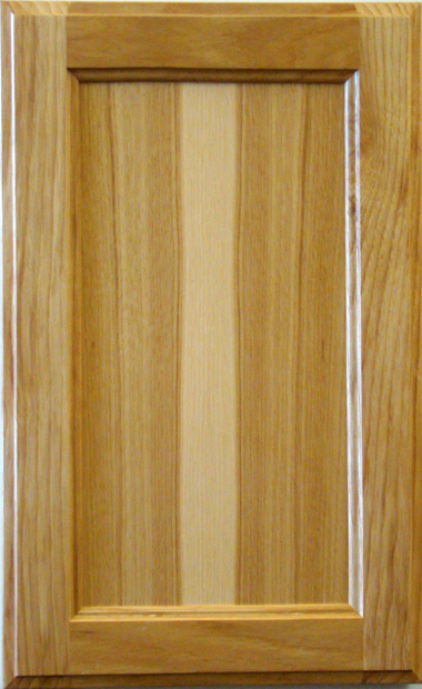 Hickory Recessed Panel - Natural