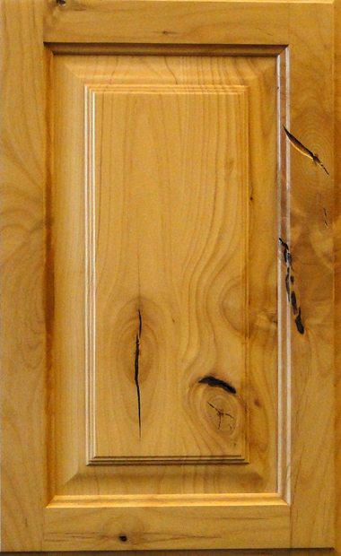 Knotty Alder Raised Panel - Strand