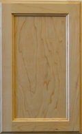 Maple Recessed Panel - Natural